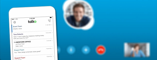 Microsoft acquires Talko messaging app to improve Skype for Business